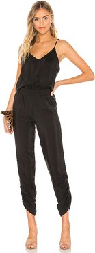 Lowell Jumpsuit in Black. - size L (also in S)