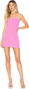 X REVOLVE Mandy Dress in Pink. - size L (also in M)