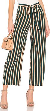 Earn Your Stripes Pant in Dark Green. - size L (also in XS)