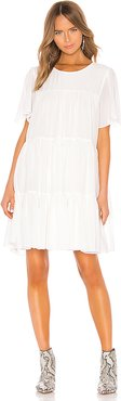 Tabitha Dress in White. - size XS (also in L,M,S)