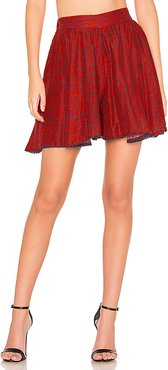 Misia Red Short in Red. - size S (also in )