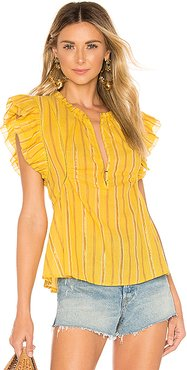 Maria Del Mar Top in Yellow. - size 2 (also in 0,6)