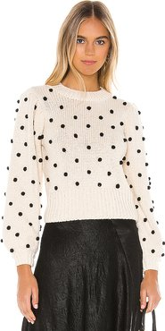 Aidy Sweater in Ivory. - size S (also in XS)