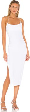 Kenmare Dress in White. - size S (also in L,M,XS)