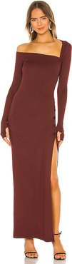 Morris Dress in Brown. - size L (also in XS,S,M)