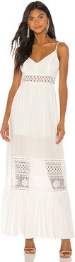 JACK by BB Dakota Kaia Maxi Dress in White. - size 0 (also in 2,4,6)