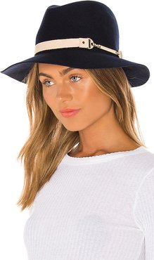 Sunset Boulevard Hat in Navy. - size L (also in S,M)