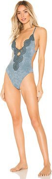 Eclipse One Piece in Blue. - size XS (also in S)