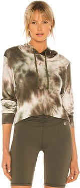 Halston Hoodie in Green. - size S (also in XS)