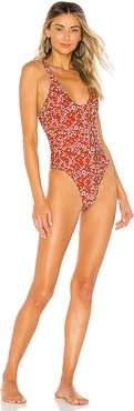 Love Stoned One Piece in Red. - size XS (also in S)