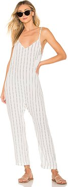 x REVOLVE Lenny Jumpsuit in White. - size XS (also in S,M,L)