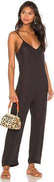 Laid Back Lenny Jumpsuit in Black. - size XS (also in S,M)