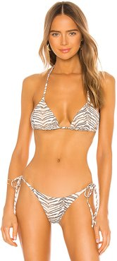 Don't Tell Mel Bikini Top in Tan. - size L (also in S,XS,M)