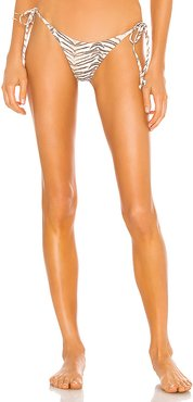 Raised Wrong Rita Bikini Bottom in Tan. - size XS (also in S,M,L)