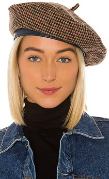 Audrey II Beret in Brown. - size M (also in XS,S)