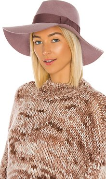 Piper Hat in Mauve. - size S (also in XS,M)