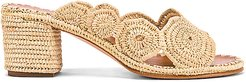 Ayoub Mule in Nude. - size 38 (also in 36)