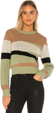 Rosa Sweater in Green. - size S (also in XS,M,L)
