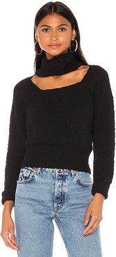 Kaia Sweater in Black. - size M (also in S,XS,L)