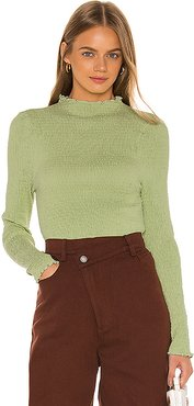 Rapidity Top in Green. - size M (also in S,XXS,XS,L)