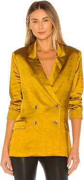 Irina Blazer in Mustard. - size M (also in XS,S,L)