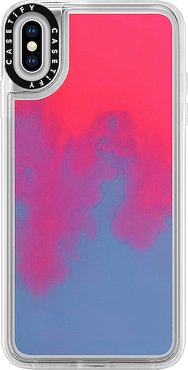 Neon Sand iPhone XS Max Case in Pink.
