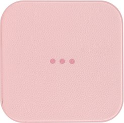 Catch:1 Wireless Charger in Pink.