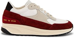 Track Classic Sneaker in Ivory,Red. - size 40 (also in 36,37,38,39)