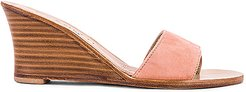Cannucce Wedge in Peach. - size 40 (also in 38,39)