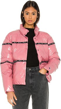 Puff Jacket in Pink. - size S (also in XS,M,L)