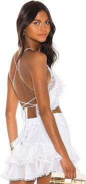 Blanca Top in White. - size M (also in XS,S,L)