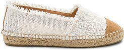 Kampala Espadrille in White. - size 36 (also in 37,38,39)