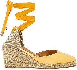Joyce Wedge in Yellow. - size 38 (also in 39,40)