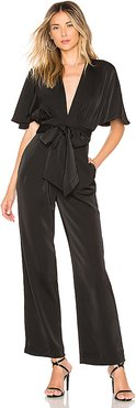 x REVOLVE Elaine Jumpsuit in Black. - size XS (also in XXS)