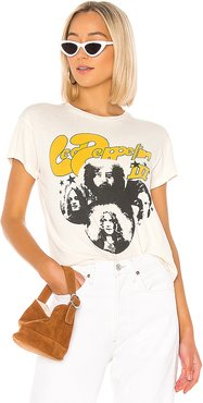 Led Zeppelin III Tour Tee in White. - size M (also in S,L)