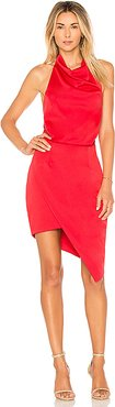 x Revolve Camo Dress in Red. - size S (also in XS,M,L)