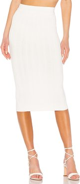 Ana Tube Skirt in White. - size L (also in M)