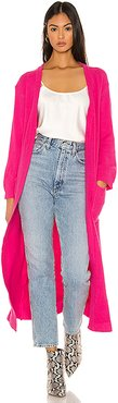 Bones Duster in Pink. - size XS (also in S,M,L)