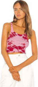 Sade Cropped Tank in Pink. - size M (also in L)