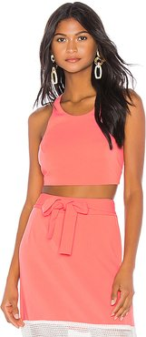 Kate Crop Top in Pink. - size S (also in XS,M,L)