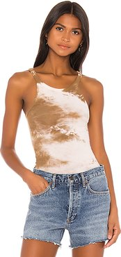 Sebastian Tank in Brown,Taupe. - size S (also in XS,M,L)