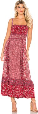 Yessica Maxi in Red. - size 2 (also in 0,4)