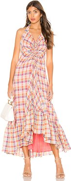 Rainbow Dreams Maxi Dress in Pink. - size 4 (also in 6,0)