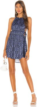 Mid Summers Day Dress in Blue. - size S (also in L,M,XS)