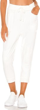 X FP Movement Let It Go Sweatpant in White. - size XS (also in M,L,S)