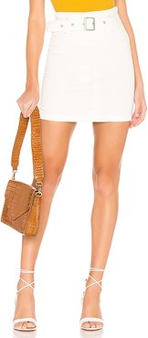 Livin It Up Pencil Skirt in White. - size 0 (also in 2,4)