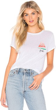 Fruit Medley Tee in White. - size S (also in XS)