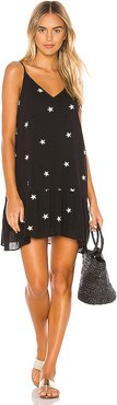 Melodie Star Dress in Black. - size L (also in XS,S,M)