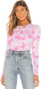 Josephine Top in Pink. - size M (also in XS,S,L)