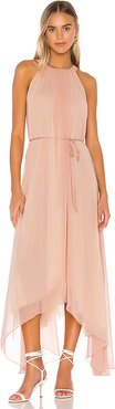 Split At The Seams Dress in Pink. - size M-L (also in XS-S)